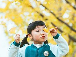 秋天的尾巴 校服&银杏树