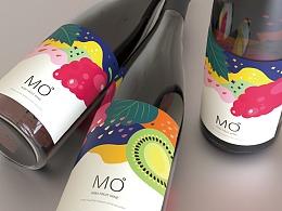 猕猴桃果酒 整体包装设计