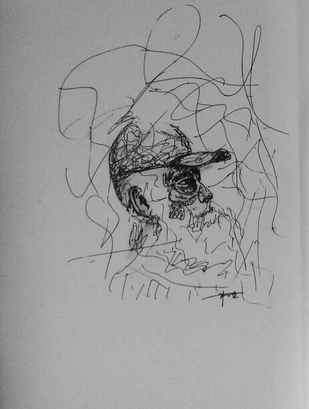 简笔画 手绘 素描 线稿 1080_1430 竖版 竖屏