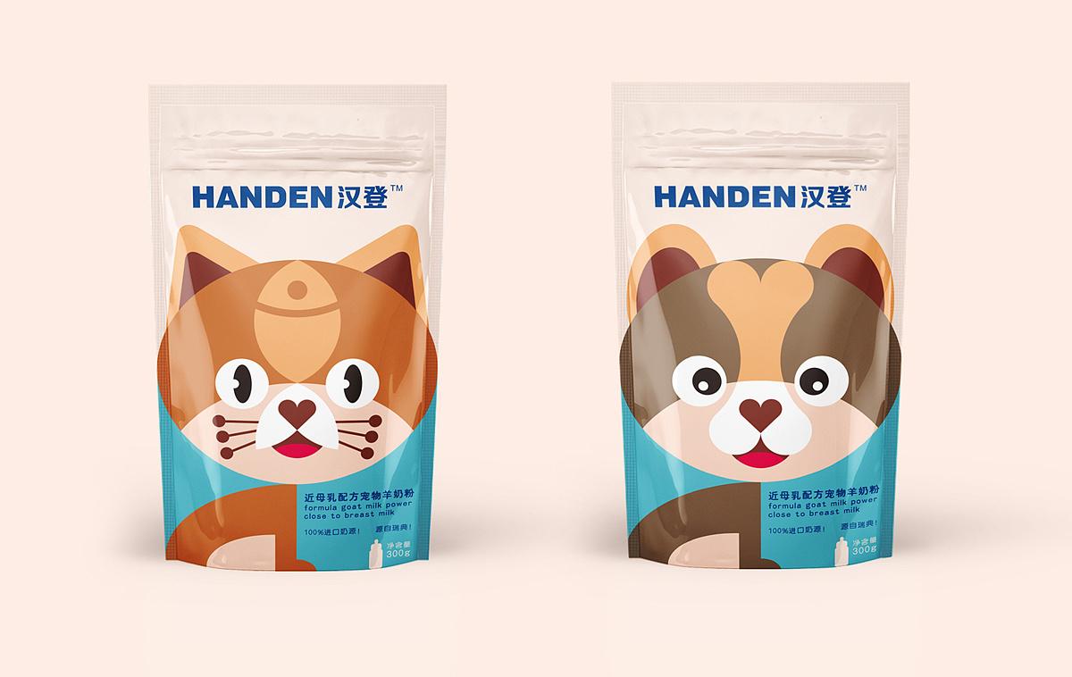 宠物奶粉包装设计图片