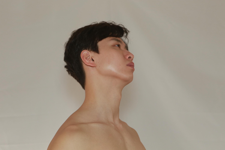 欧美大胆人体裸模_男模 人体 全身 模特 裸模 全身 (未修片)原图