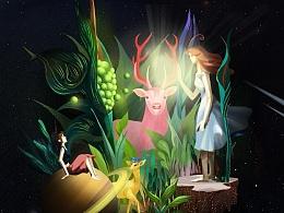 百雀羚节气动画《一首隐藏在节气里的诗》