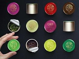 小罐茶茶叶包装元素