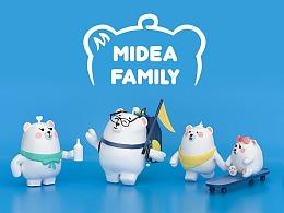 Midea Family 熊小美一家