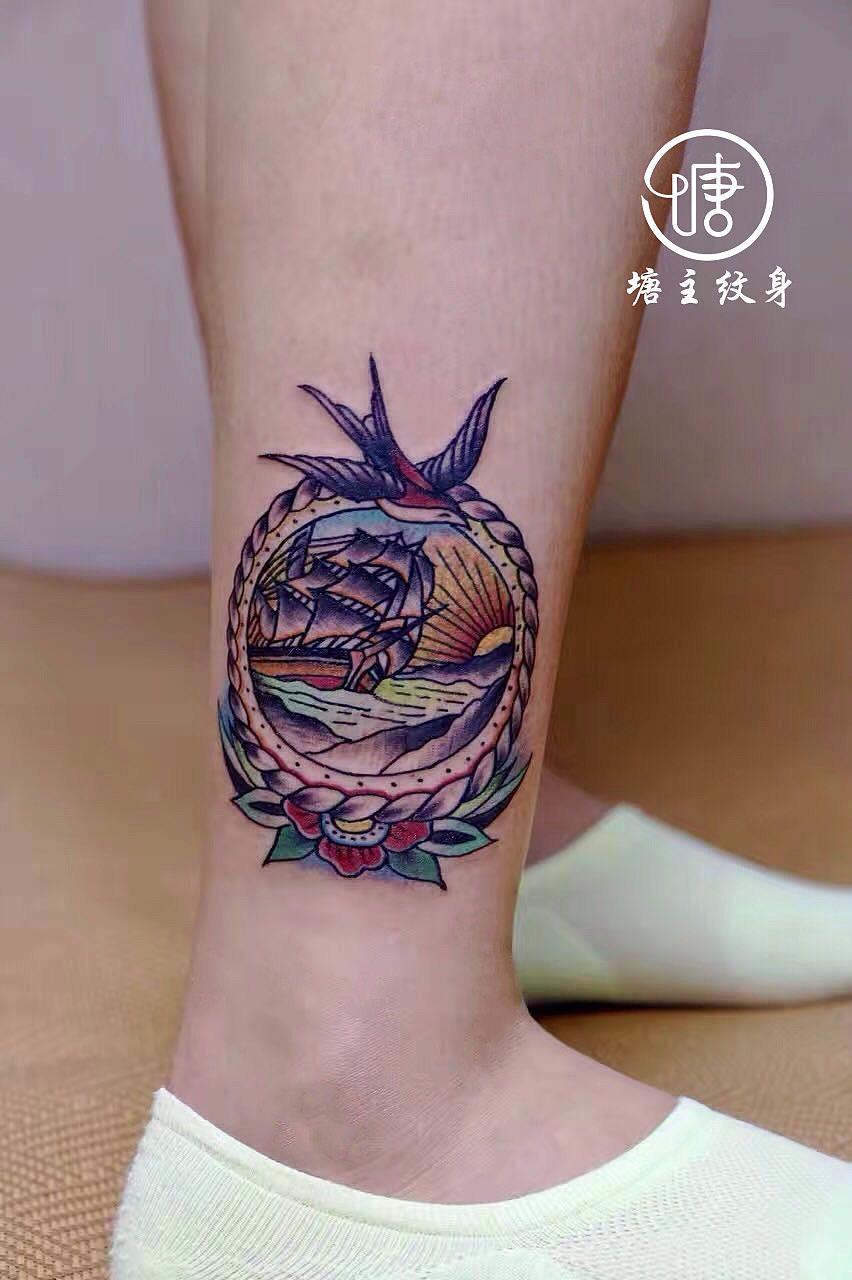 纹身设计手稿