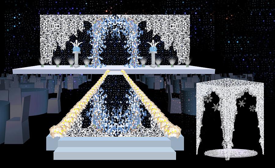 婚礼策划设计(不定期更新)|舞台美术|空间/建筑|pan图片