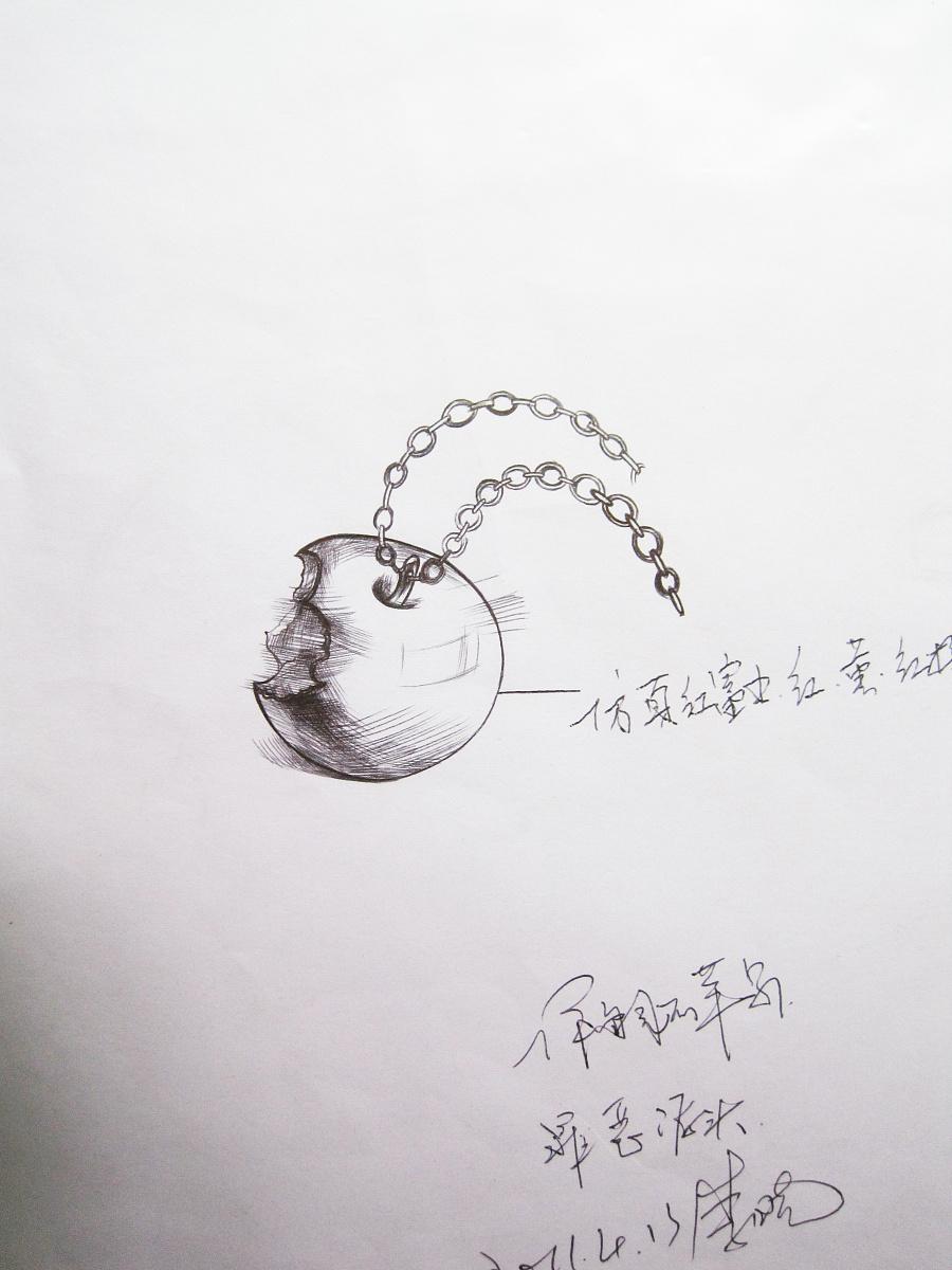 珠宝手绘小稿|首饰|手工艺|miss晓 - 原创设计作品图片