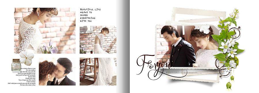 韩式婚纱照相册排版_韩式婚纱照相册设计_韩式婚纱图片