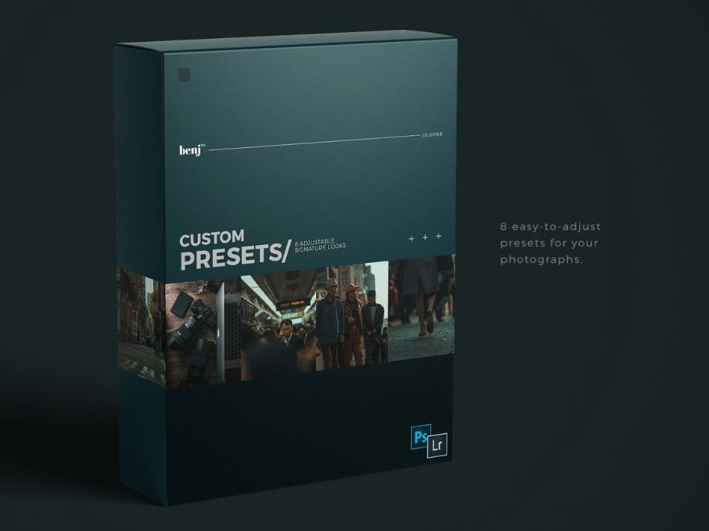 【P313】日系街拍电影胶片LR预设benj™ Custom Presets