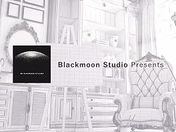 blackmoon studio 2017 model showreel