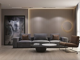 精致的现代居所,静雅而舒适的家
