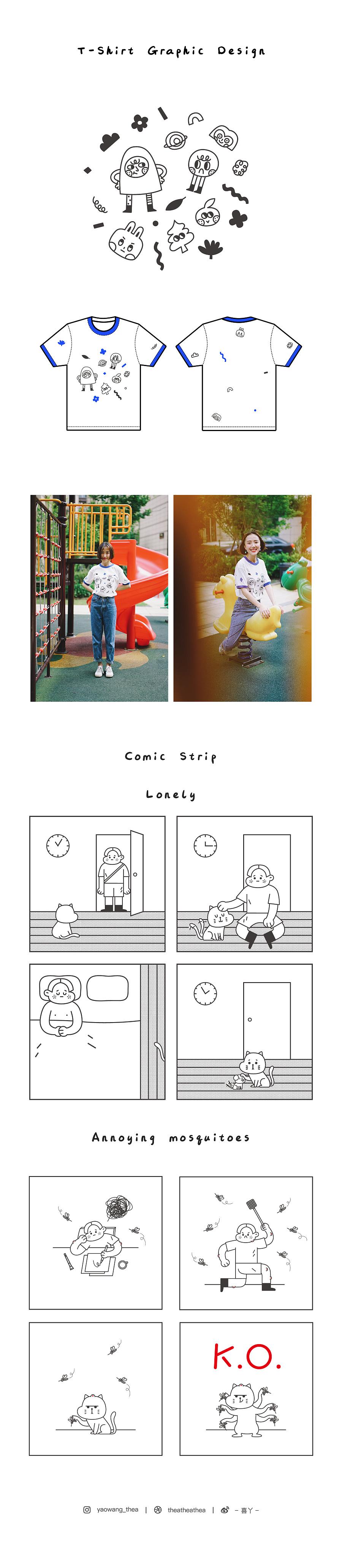 查看《喜丫|2018插画年度总结》原图,原图尺寸:1627x7457