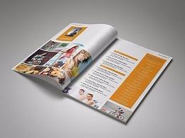 34页商务通用画册模板