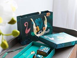 花茶包装-火烈鸟系列