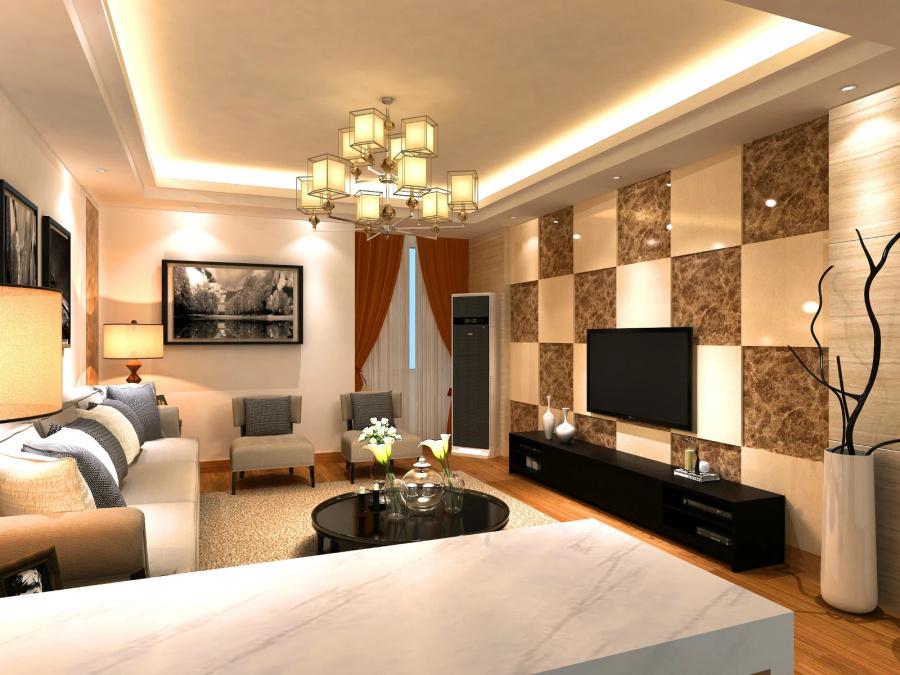 室内设计师LiQuan室内设计效果图鉴赏(入行一著名住宅设计图片