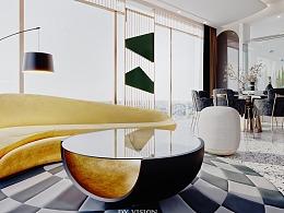 现代简约家装空间表现