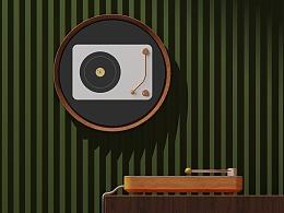 黑胶唱机炉设计