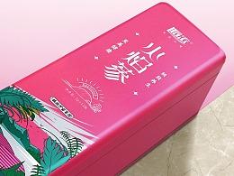 火焰蔘养生茶叶包装茶盒茶罐设计西安厚启