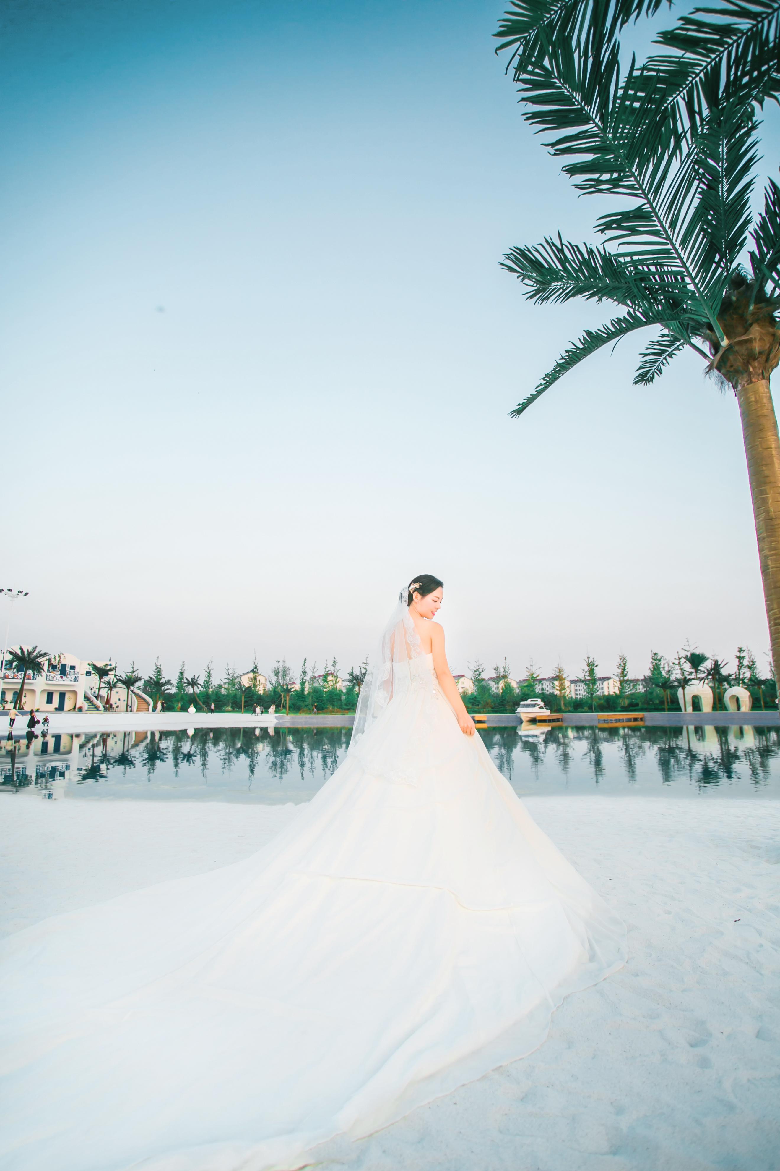 婚纱照高清图片 黑白婚纱照背影图片婚纱照背影图
