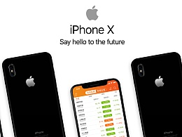 平安证券iso版UI改良-iPhone X展示