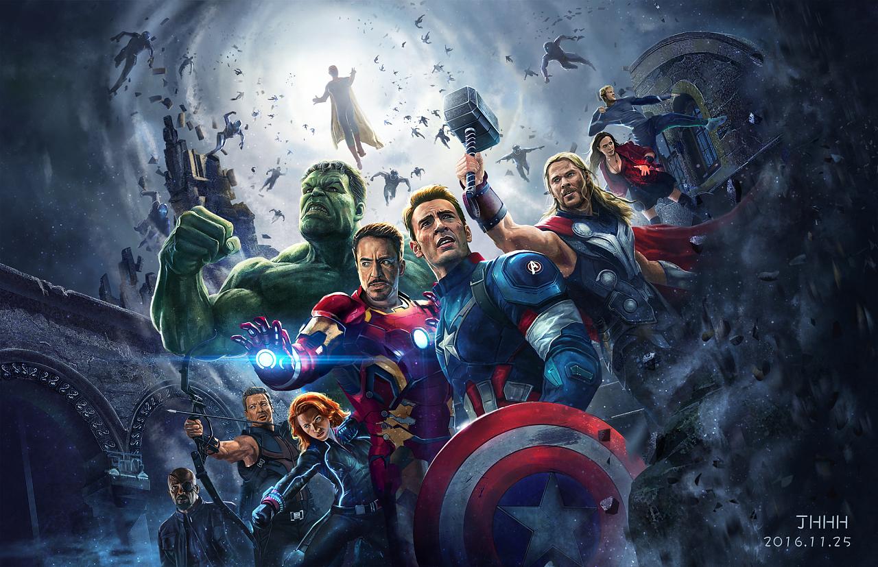 《复仇者联盟2》gif海报