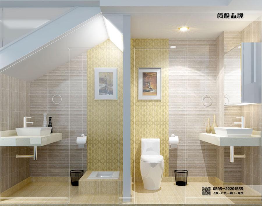 楼梯下卫生间|室内设计|空间/建筑|3设计 - 原创设计图片
