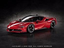 Bburago 1:24 Ferrari SF90 Stradale
