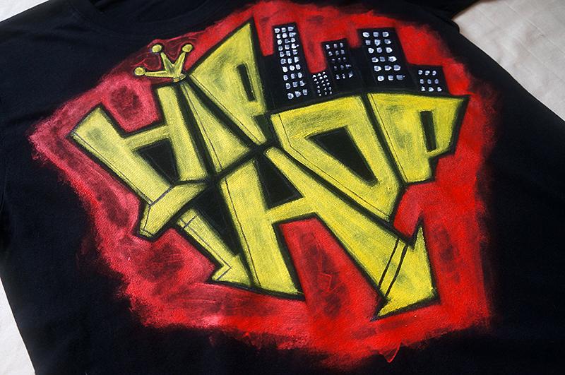 原创手绘tshirt—hiphop|涂鸦/潮流|插画|果子design