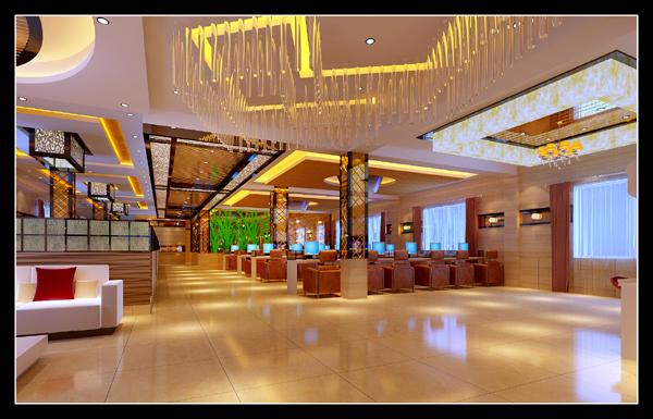 昭通大型网咖设计效果图|室内设计|空间/建筑|邵通公