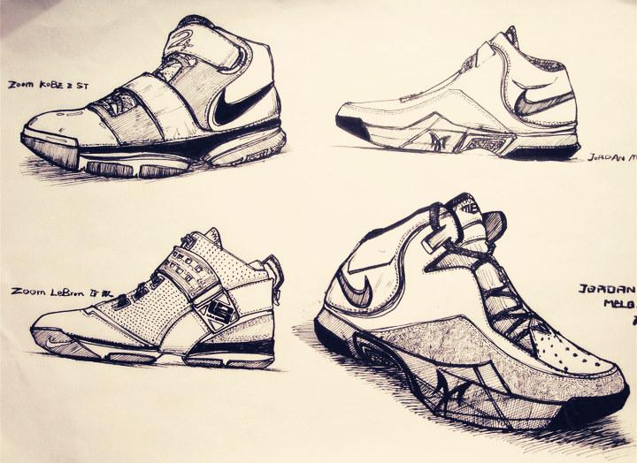 鞋子结构图大全