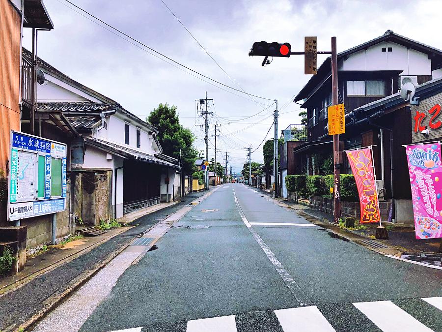日本街道_日本民房,干净的街道