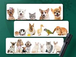 宠物用品紫外线除菌灯亚马逊listingA+电商页面设计