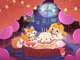 生日快乐图