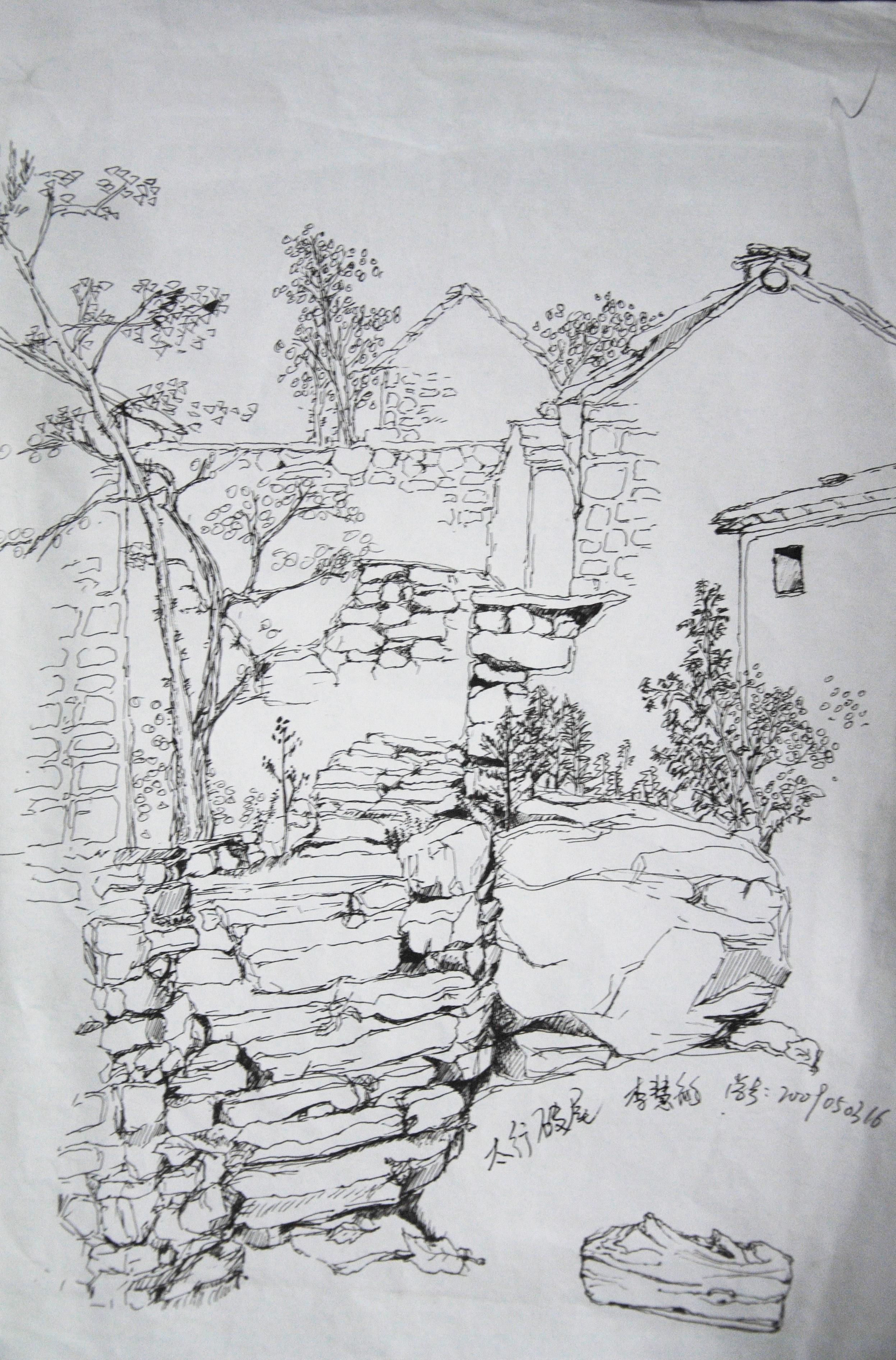 简笔画 手绘 素描 线稿 2493_3782 竖版 竖屏