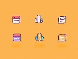 线性插画及icon练习