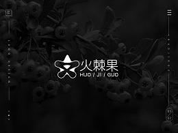 【南都艺设】火棘果logo设计/字体设计
