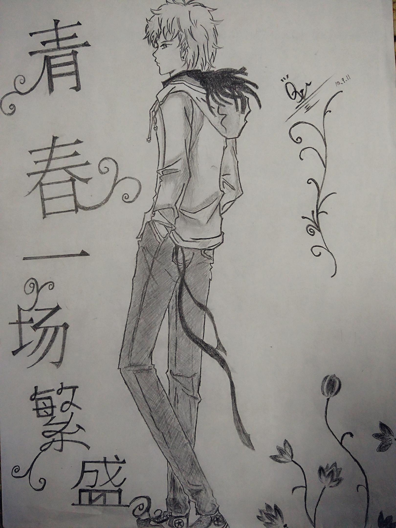 手绘动漫|动漫|单幅漫画|q晓j - 原创作品 - 站酷