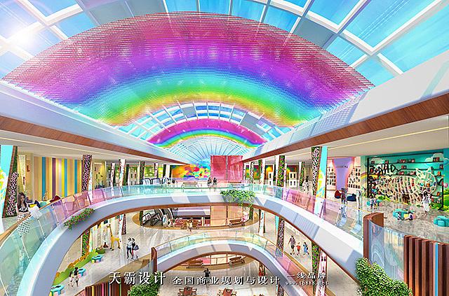 成都商业街设计之前不妨看看天霸设计的设计作品