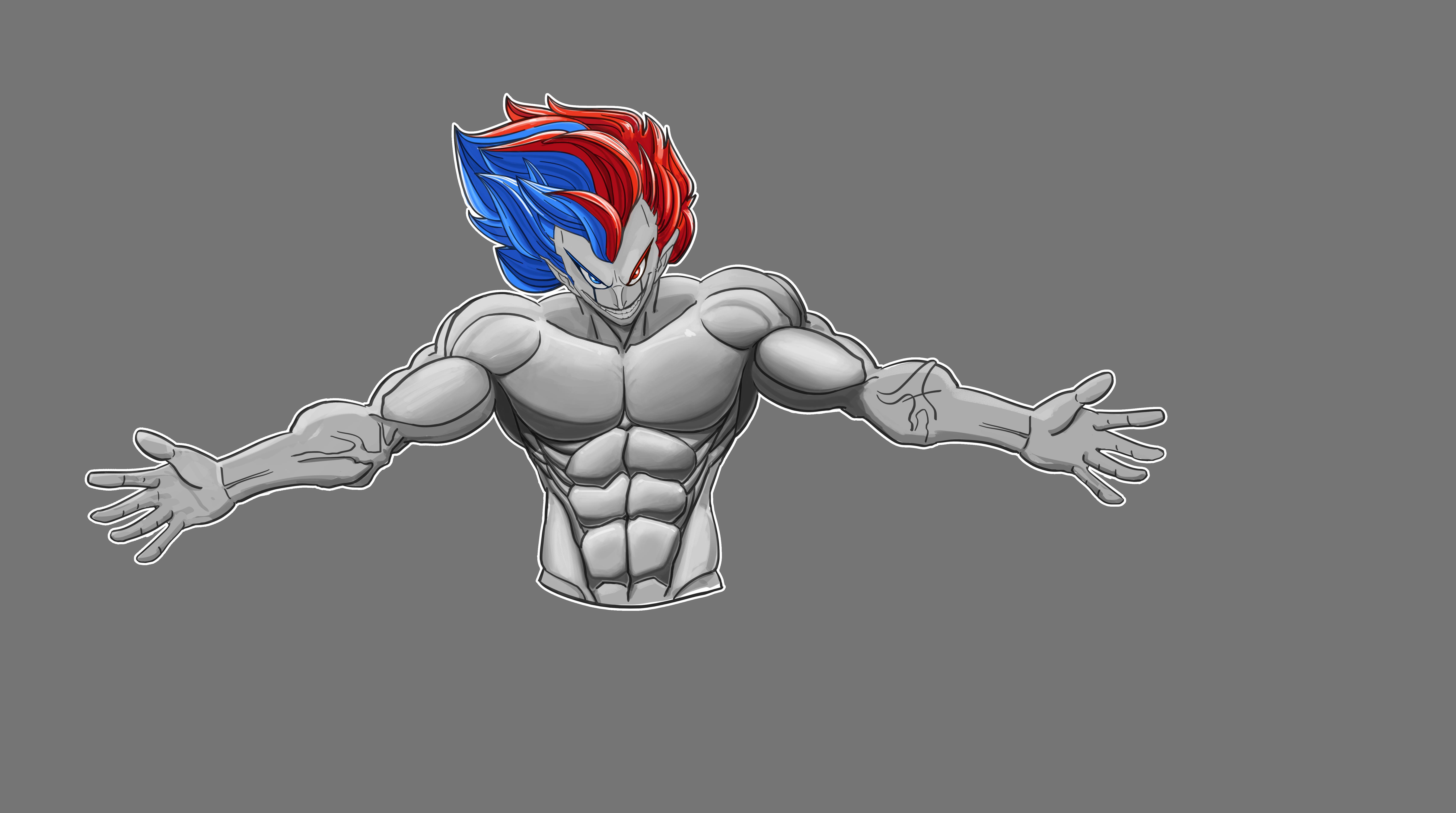 锻炼肌肉卡通图片