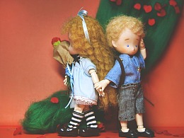 迷路的愛麗絲遇到小王子