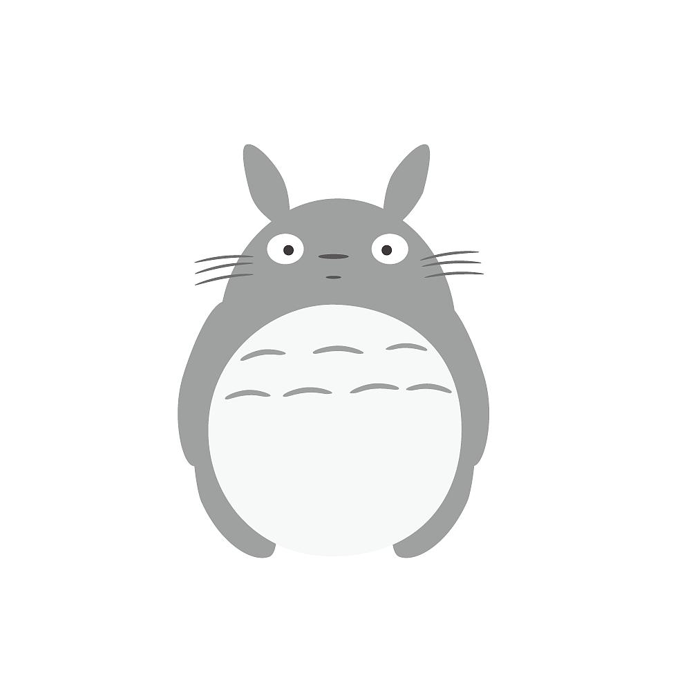 ai画一只大龙猫