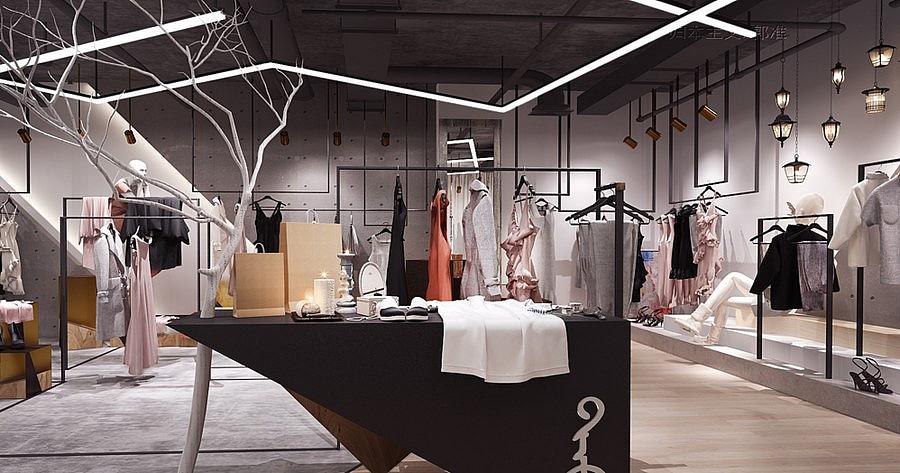 德阳专业服装店设计卓巧装饰>手绘摄像头设计图图片
