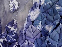 毕业设计作品《叶落蓝山》——纤维艺术设计