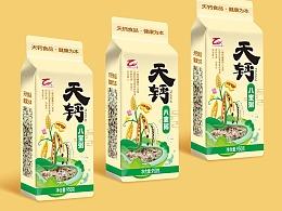 淇县天钙公司天钙杂粮系列包装设计(一)