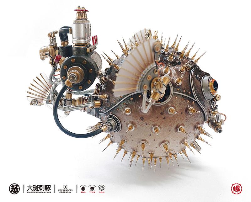 查看《愤怒的毒物 —— 机械小刺鲀!》原图,原图尺寸:800x644