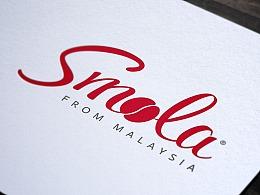 咖啡 logo设计 SMOLA