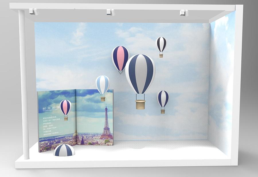 一组橱窗|展示/橱窗/店面设计|空间/建筑|qinqin12