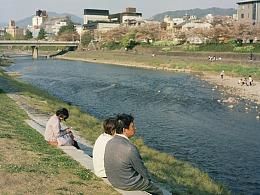 胶片中的四月京都
