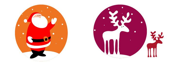圣诞节 圣诞图案 圣诞 节日图案 包装设计 画册设计 详情页设计图片