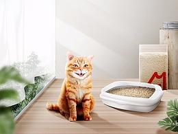 宠物猫砂详情页/家居风格/电商设计